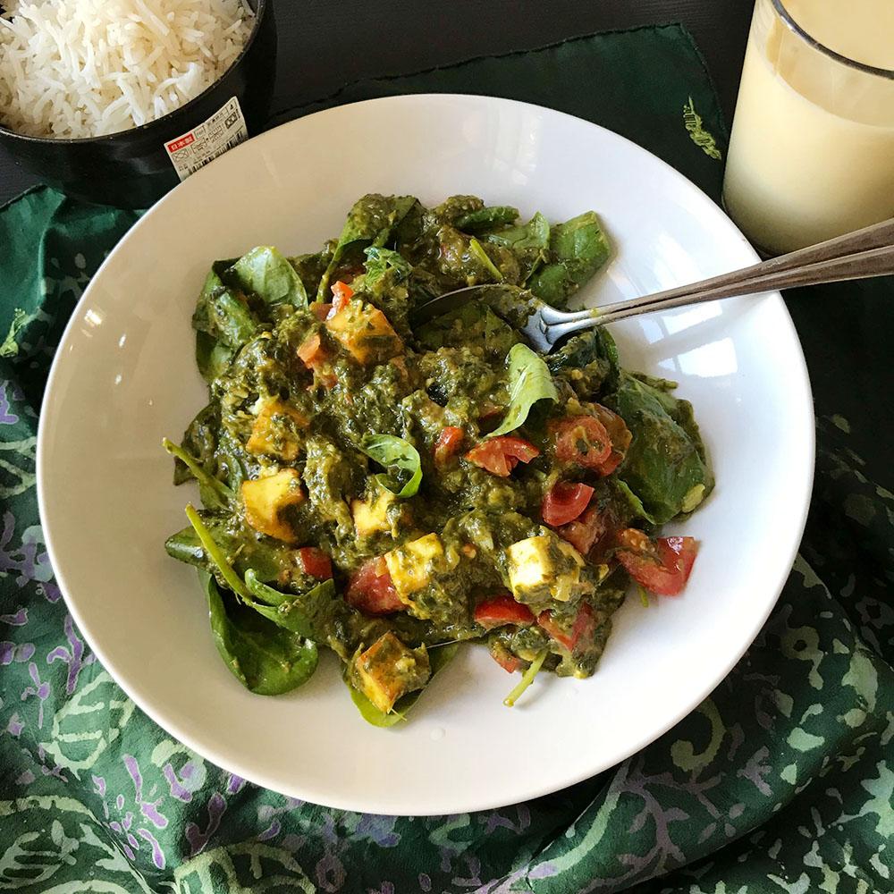 Palak Paneer Ayurveda Küche